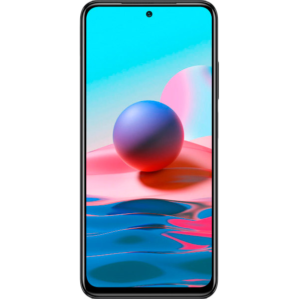 Смартфон XIAOMI Redmi Note 10 4/64 Gb Dual Sim Onyx Gray Встроенная память, Гб 64