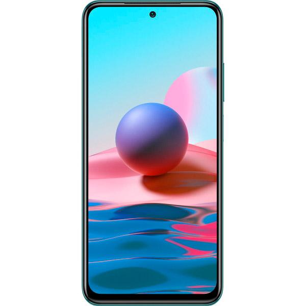 Смартфон XIAOMI Redmi Note 10 4/64 Gb Dual Sim Lake Green Встроенная память, Гб 64
