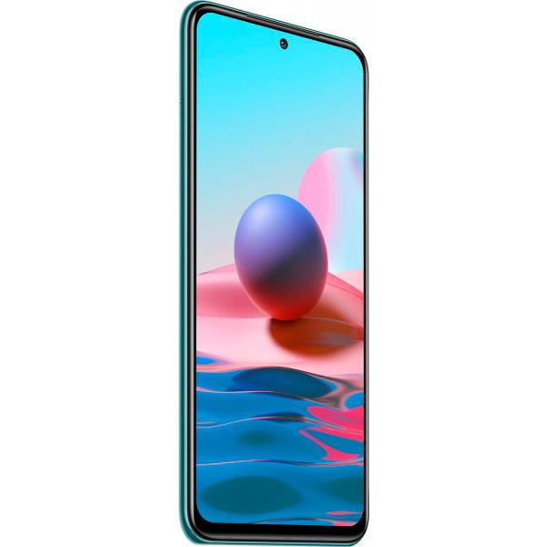 Смартфон XIAOMI Redmi Note 10 4/64 Gb Dual Sim Lake Green Диагональ дисплея 6.43