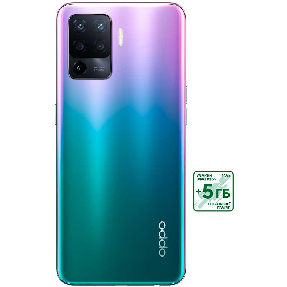 Смартфон OPPO Reno5 Lite 8/128 Gb Dual Sim Purple Диагональ дисплея 6.43
