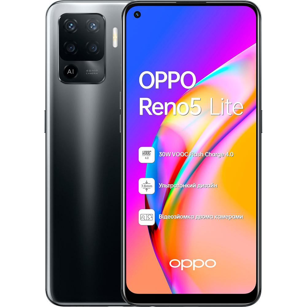 Смартфон OPPO Reno5 Lite 8/128 Gb Dual Sim Black