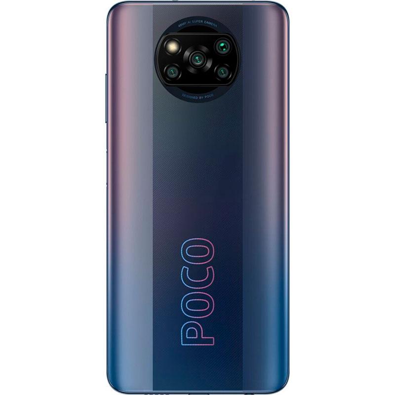 Смартфон POCO Pro X3 6/128 GB Dual Sim Phantom Black Вбудована пам'ять, Гб 128