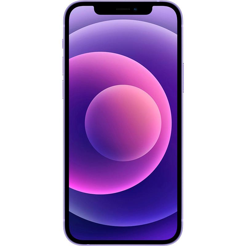 Смартфон APPLE iPhone 12 64GB Purple Встроенная память, Гб 64