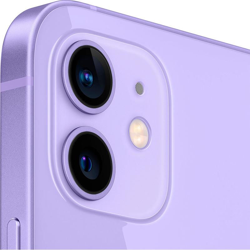 Смартфон APPLE iPhone 12 64GB Purple Диагональ дисплея 6.1