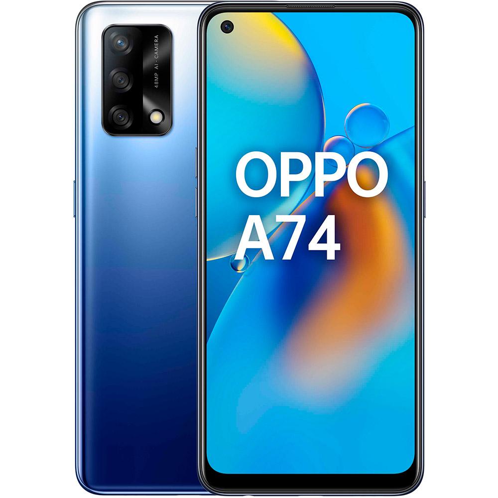 Смартфон OPPO A74 4/128 GB Midnight Blue