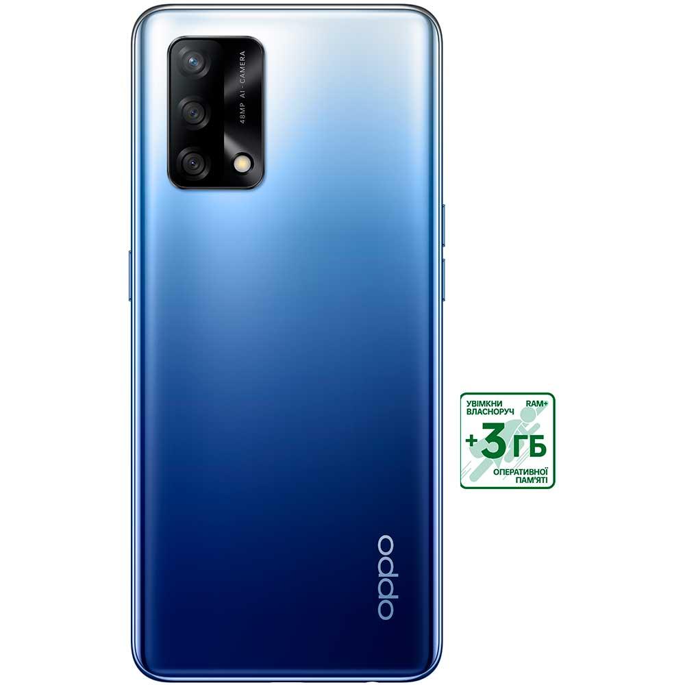 Смартфон OPPO A74 4/128 GB Midnight Blue Диагональ дисплея 6.43