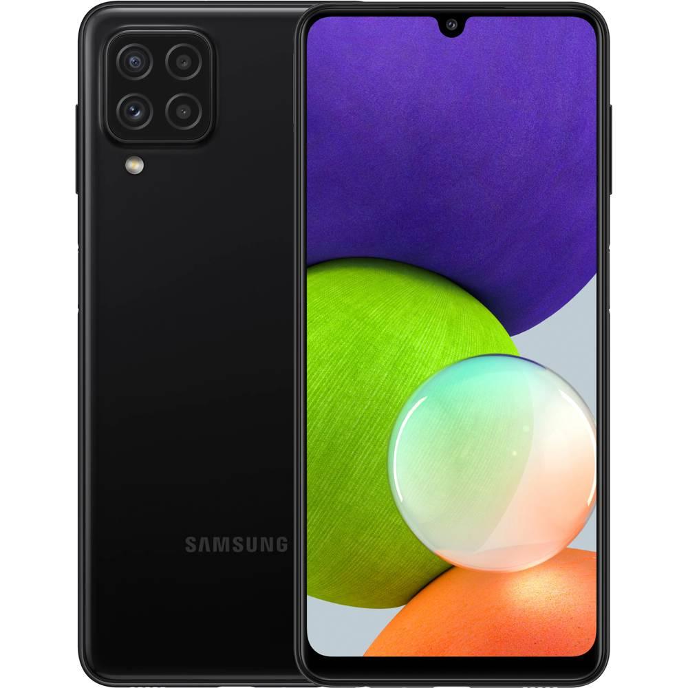Смартфон SAMSUNG SM-A225F Galaxy A22 4/64Gb ZKD Black (SM-A225FZKDSEK)