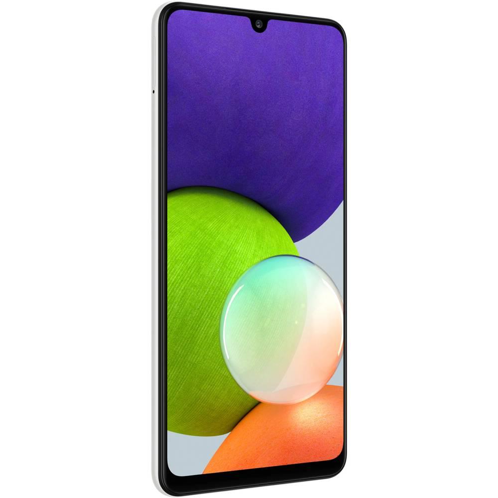 Смартфон SAMSUNG SM-A225F Galaxy A22 4/64Gb ZWD White (SM-A225FZWDSEK) Диагональ дисплея 6.4