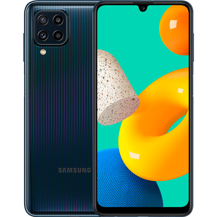 Смартфон SAMSUNG Galaxy M32 6/128 Gb Dual Sim Black (SM-M325FZKGSEK)
