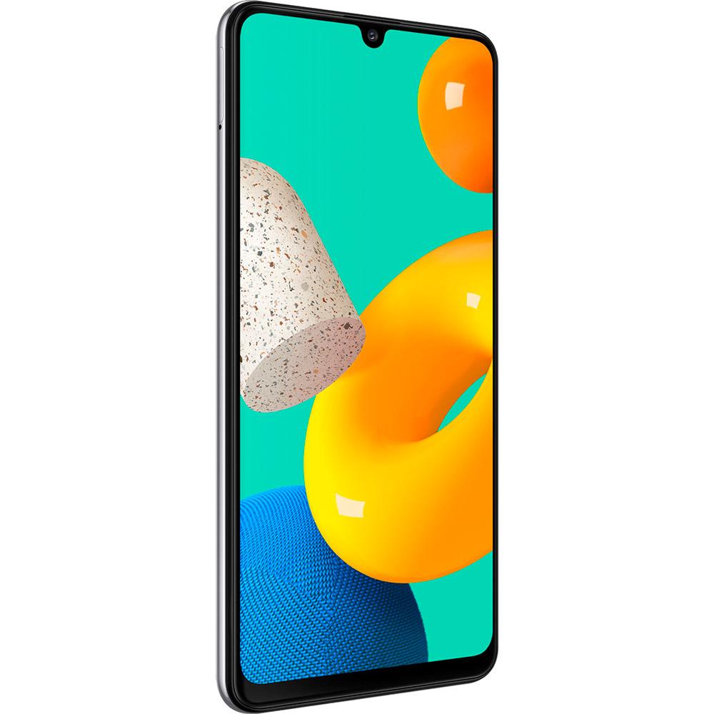 Смартфон SAMSUNG Galaxy M32 6/128 Gb Dual Sim White (SM-M325FZWGSEK) Диагональ дисплея 6.4