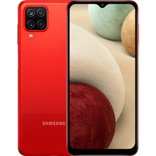 Смартфон SAMSUNG Galaxy A12 4/64 Gb Dual Sim Red (SM-A127FZRVSEK)