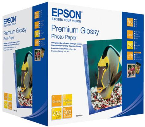 Фотобумага EPSON Premium Glossy Photo (C13S041826)