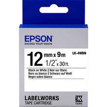 Картридж EPSON LK4WBN LW-300/400/700 Black/White (C53S654021)