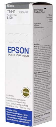 Чернила EPSON L100/L200 Black (C13T66414A)