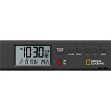 Настольные часы NATIONAL GEOGRAPHIC Thermometer Flashlight Black (9060300)
