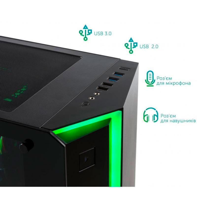 Компьютер VINGA Odin A7755 (I7M32G3080.A7755) Чипсет Intel Z590