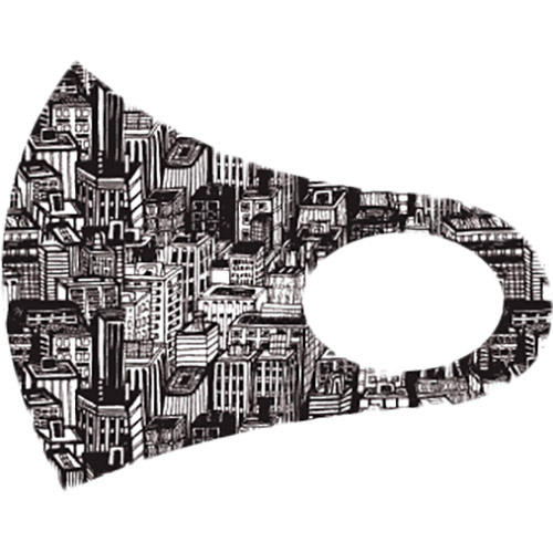 Маска защитная 4PROFI City Тип маска