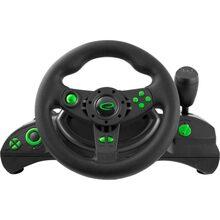 Руль Esperanza Wheel EGW102 Black/Green