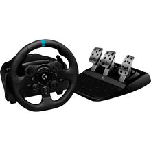 Дротовий кермо Logitech G923 Racing Wheel and Pedals for PS4 and PC (L941-000149)