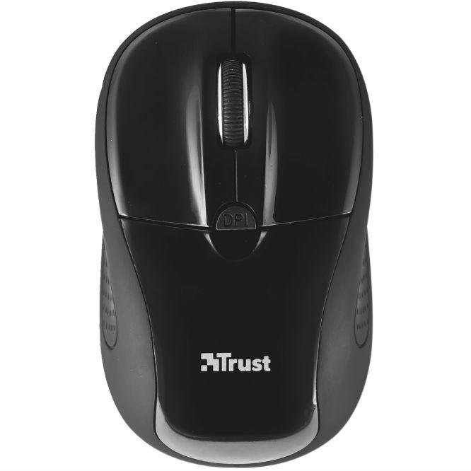 Мышь TRUST Primo Wireless Mouse black (20322)