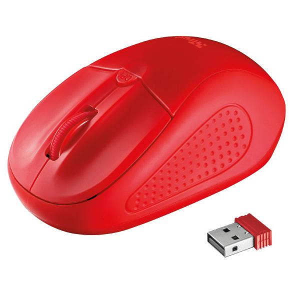 Мышь TRUST Primo Wireless Mouse Red (20787)
