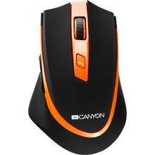 Мышь CANYON Wireless Black/Orange (CNS-CMSW13BO)