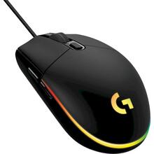 Мышь LOGITECH G102 Lightsync USB Black