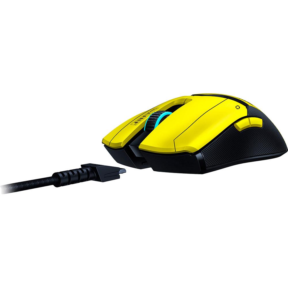 Мышь RAZER Viper Ultimate Wireless & Mouse Dock Cyberpunk (RZ01-03050500-R3M1) Беспроводное подключение RF