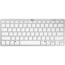 Клавіатура TRUST Nado Wireless Keyboard White (22242)