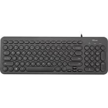 Клавіатура TRUST Muto Silent RU (23408)