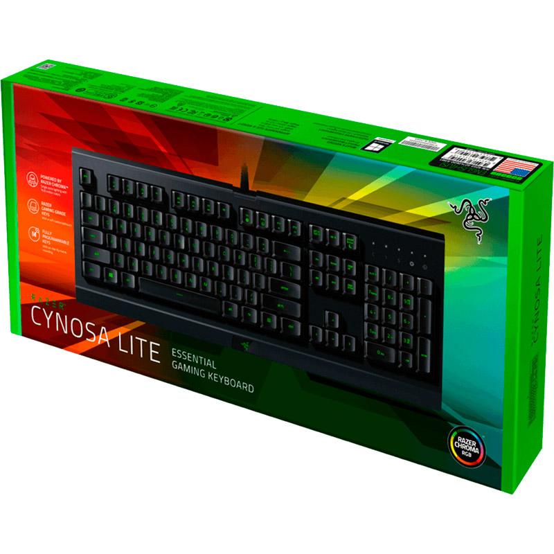 Клавиатура RAZER Cynosa Lite (RZ03-02741500-R3R1) Конструкция мембранная