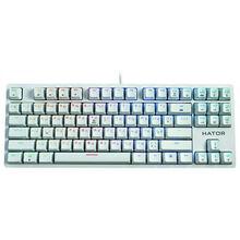 Клавиатура HATOR Rockfall EVO TKL Optical White (HTK-631)