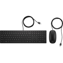 Комплект HP Pavilion Keyboard and Mouse 400 USB Black (4CE97AA)