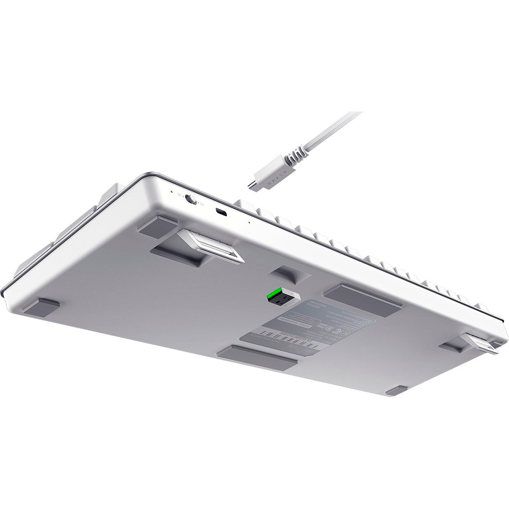Клавиатура RAZER Pro Type US Layout WL/BT/USB White (RZ03-03070100-R3M1) Конструкция механическая