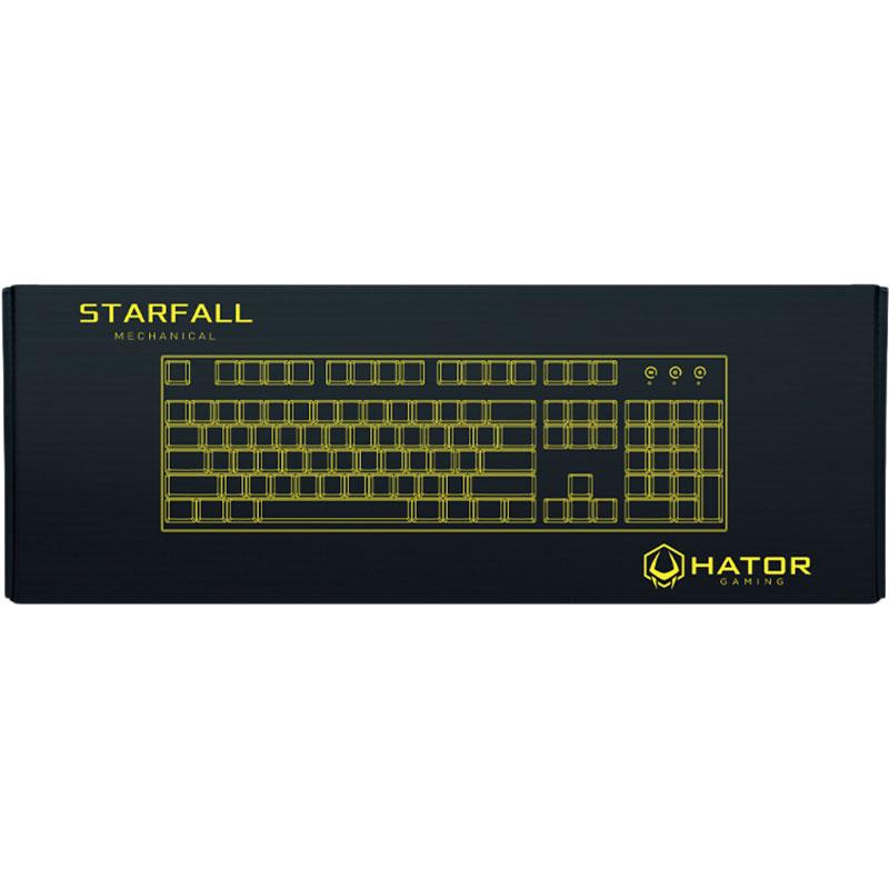 Клавиатура HATOR Starfall Outemu Red (HTK-608) Подключение проводное