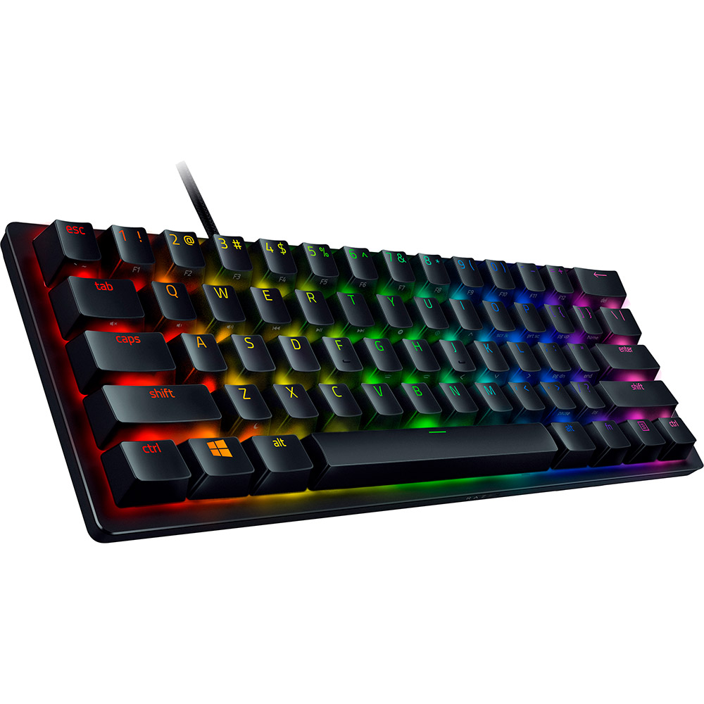 Клавиатура RAZER Huntsman mini Purple Switch RU (RZ03-03391500-R3R1) Комплектация клавиатура