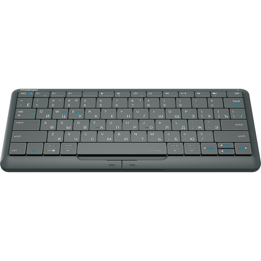 Клавиатура PRESTIGIO Click&Touch Silver (PSKEY2SGRU) Комплектация клавиатура