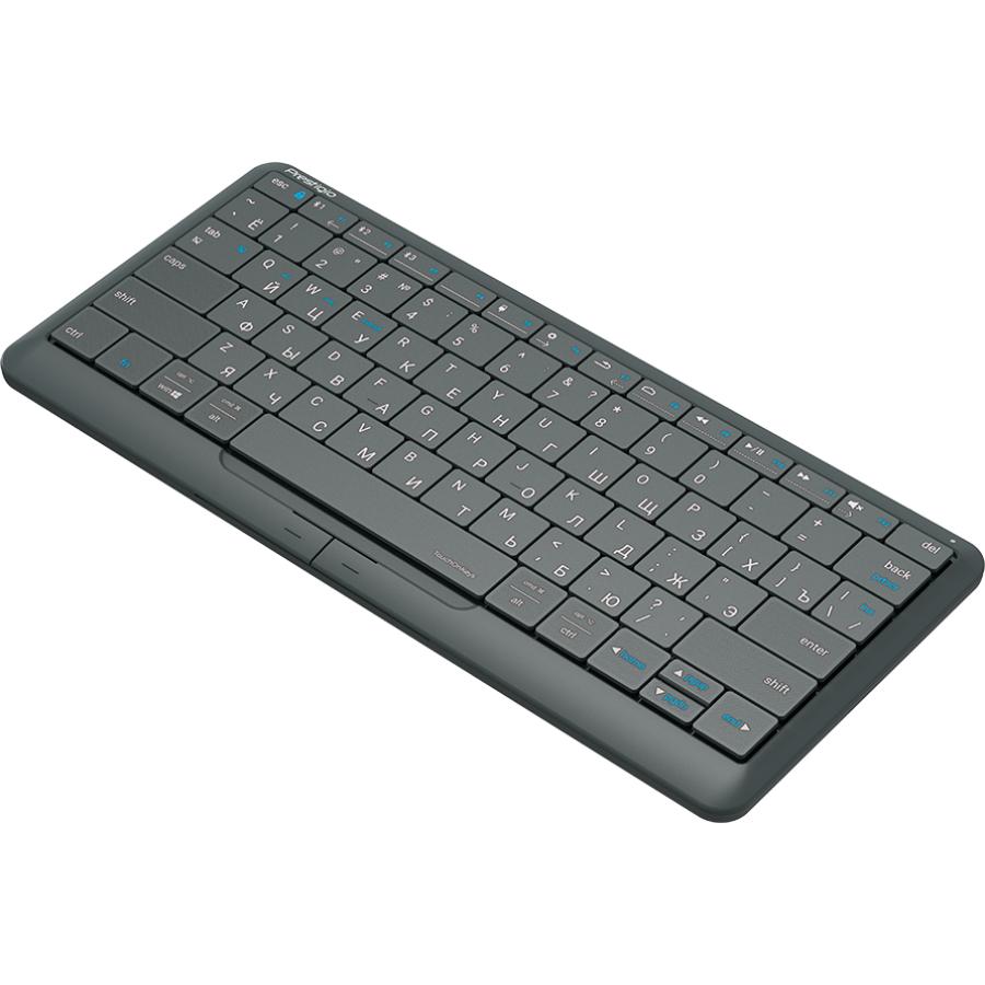 Клавиатура PRESTIGIO Click&Touch Silver (PSKEY2SGRU) Класс стандартная
