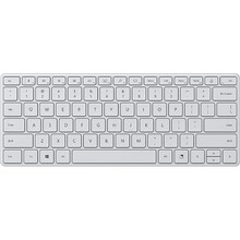 Клавиатура MICROSOFT Compact Bluetooth Glacier (21Y-00041)