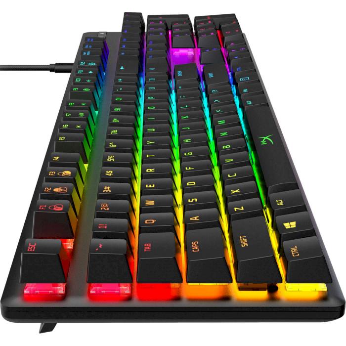 Клавиатура HYPERX Alloy Origins Aqua USB RGB US (HX-KB6AQX-US) Конструкция механическая