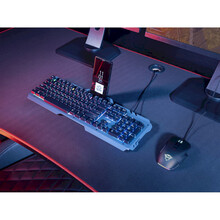 Клавиатура TRUST GXT 853 Esca Metal USB Black (23796)