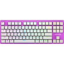 Клавиатура HATOR Rockfall EVO TKL Kailh Optical Lilac (HTK-633)