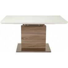 Обеденный стол GT К-6101 (140-180*80*76) White/Cappucino