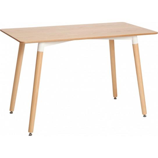 Обеденный стол GT К-6004 (120*80*7) Oak Тип обеденные столы