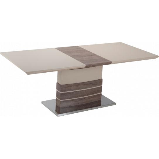 Обеденный стол GT KY8105 (140-180x80x76) Beige/Wooden Ширина 1800