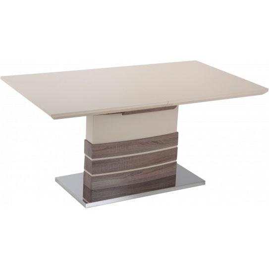 Обеденный стол GT KY8105 (140-180x80x76) Beige/Wooden Высота 760