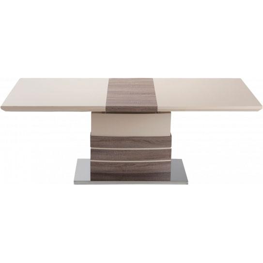 Обеденный стол GT KY8105 (140-180x80x76) Beige/Wooden Тип обеденные столы