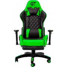Кресло GT RACER X-2526 Black/Green