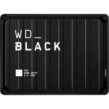"Внешний жесткий диск WD 2.5"" USB 3.1 4TB BLACK P10 Game Drive (WDBA3A0040BBK-WESN)"