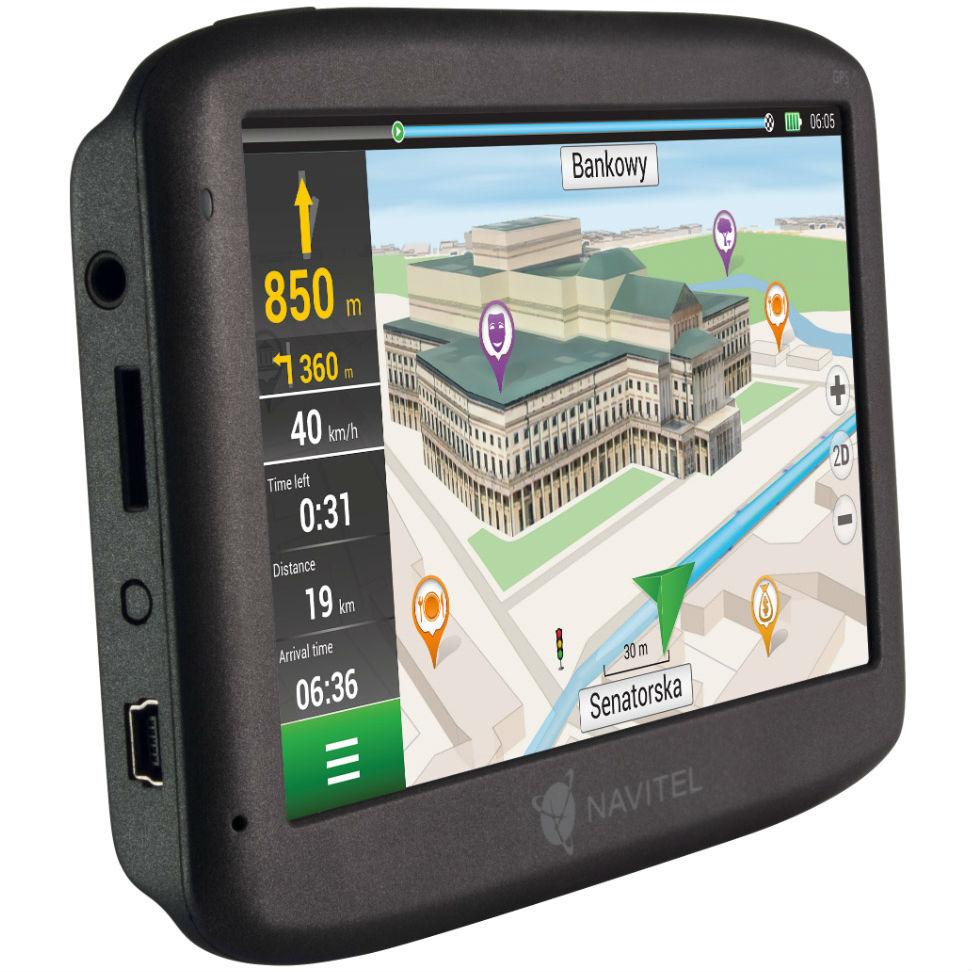 GPS-навигатор NAVITEL F150 Тип автомобильный